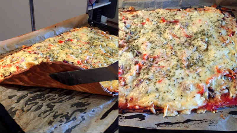 Annicas LCHF-pizza