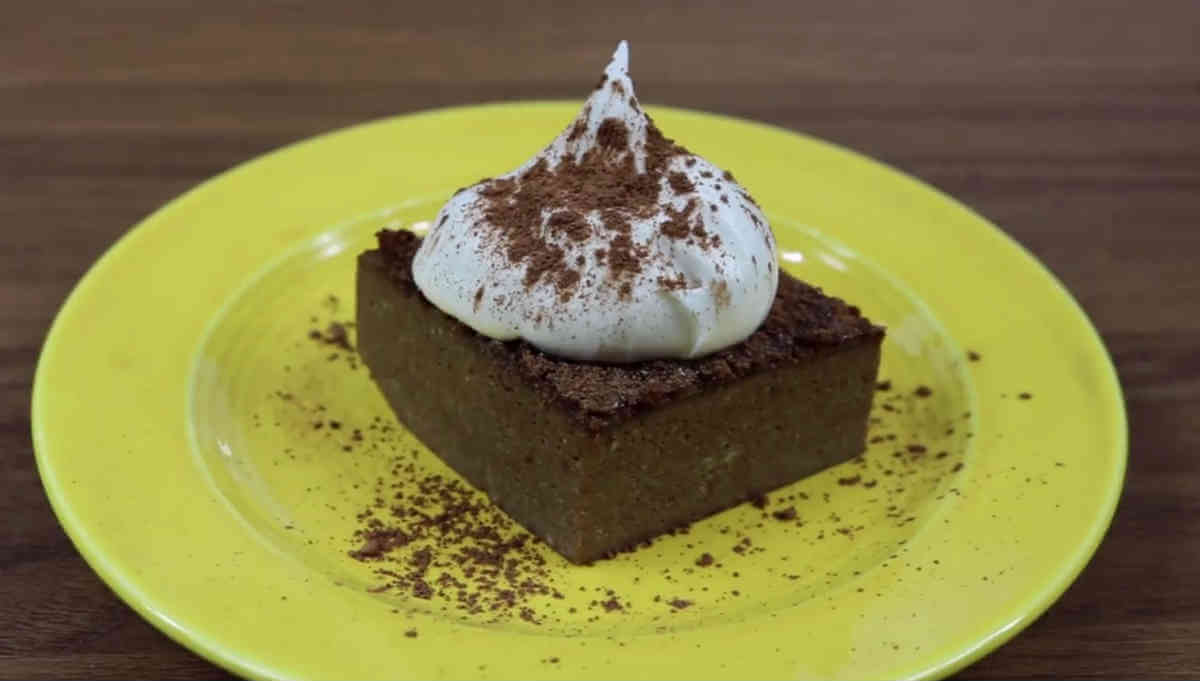 Low carb brownie - lchf